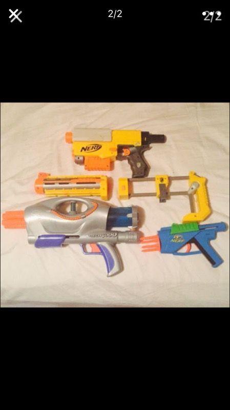 3 nerf guns for sale