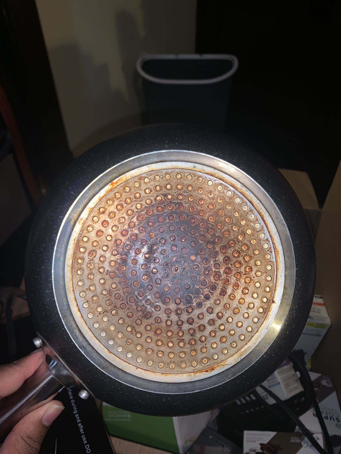 Counter Top Burner Plus Sandwich Pan And Frying Pan