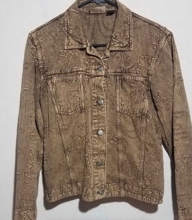 Chico's brown jacket size 2