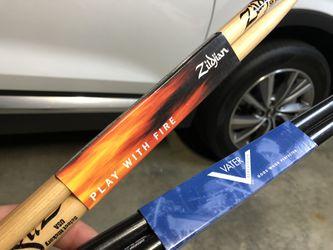 Brand New Drumsticks (Zildjian & Vater) Thumbnail
