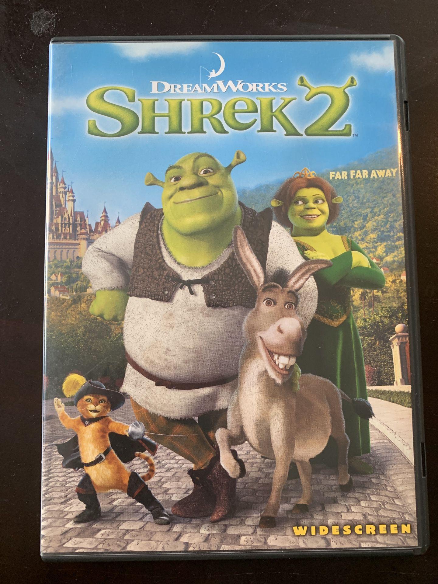 Dreamworks Shrek DVD Set