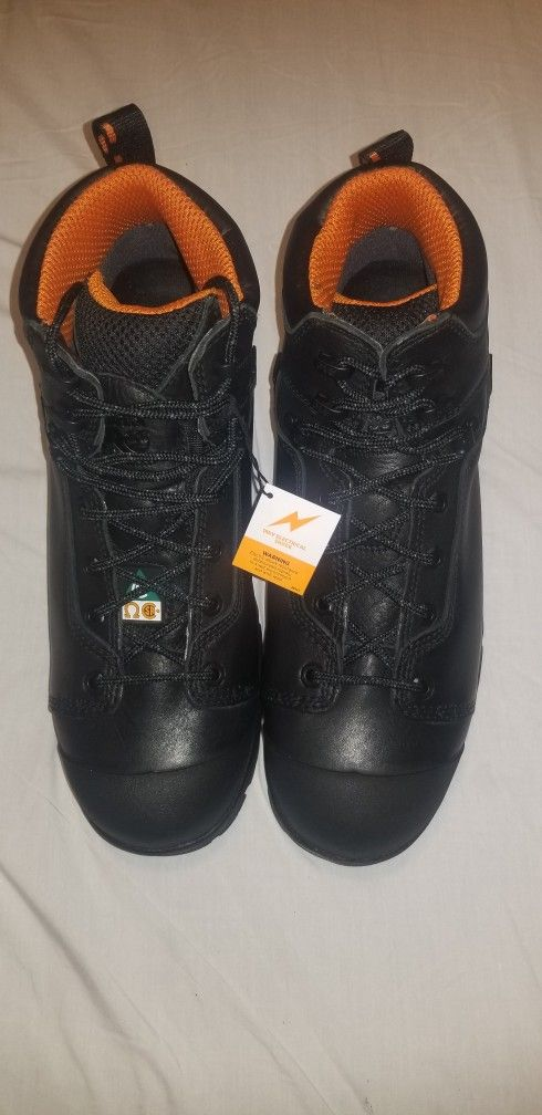 Timberland Pro. Steel Safety Toe Waterproof.  Size 12 WIDE