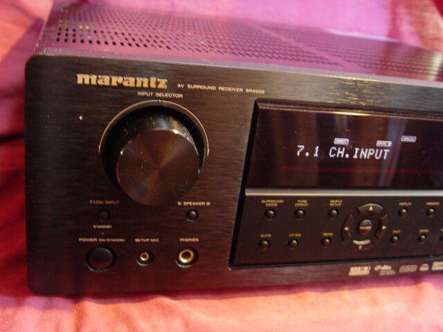 Marantz AV receiver, 3 Hdmi, inputs, surround..