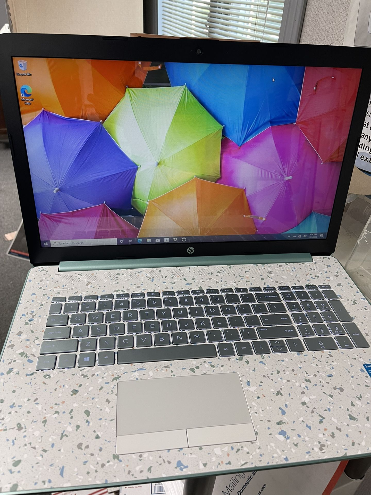 """HP 17"""" Touch Laptop Intel i3 256GB SSD w/ Microsoft 365 & HP Tech Support"""