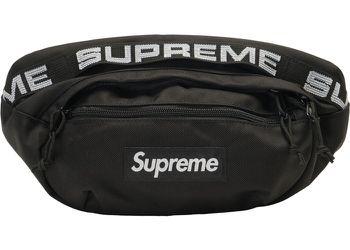 Supreme black waist bag 2 for $300 only 1 for $100 Thumbnail