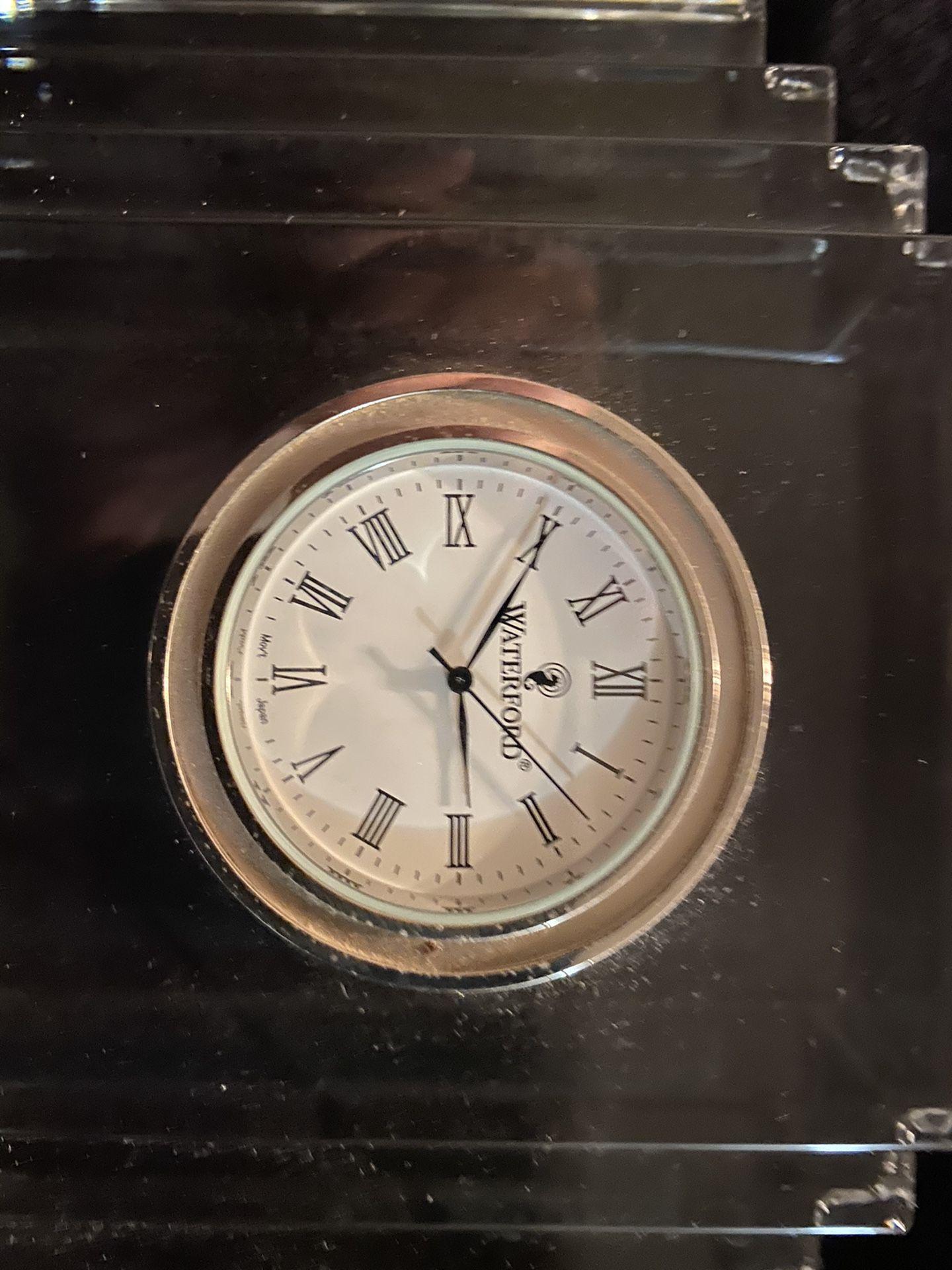 Medium Metropolitan Waterford Crystal Clock