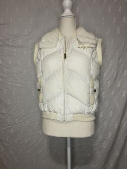 Baby Phat Authentic Puffer Vest Jacket Thumbnail