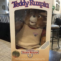 Collectible Teddy Ruskin Toy Thumbnail