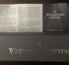 Waterford Crystal Letter Opener Thumbnail