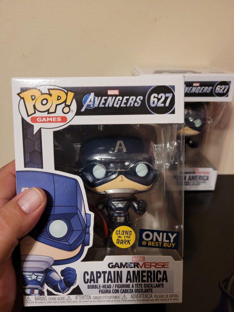 Funko Captain AMERICA GamerVerse Set