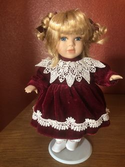 """Porcelain Dolls 16 """" and 6""""  tall  Thumbnail"""