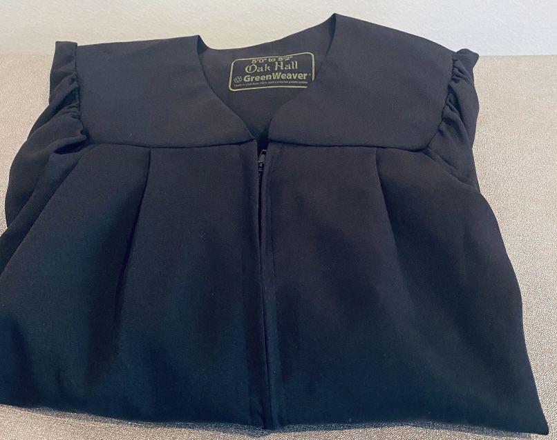 Harry Potter Oak Hall Greenweaver Graduation Gown