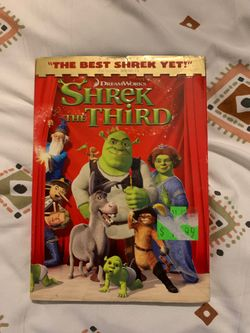 Shrek the Third DVD Thumbnail