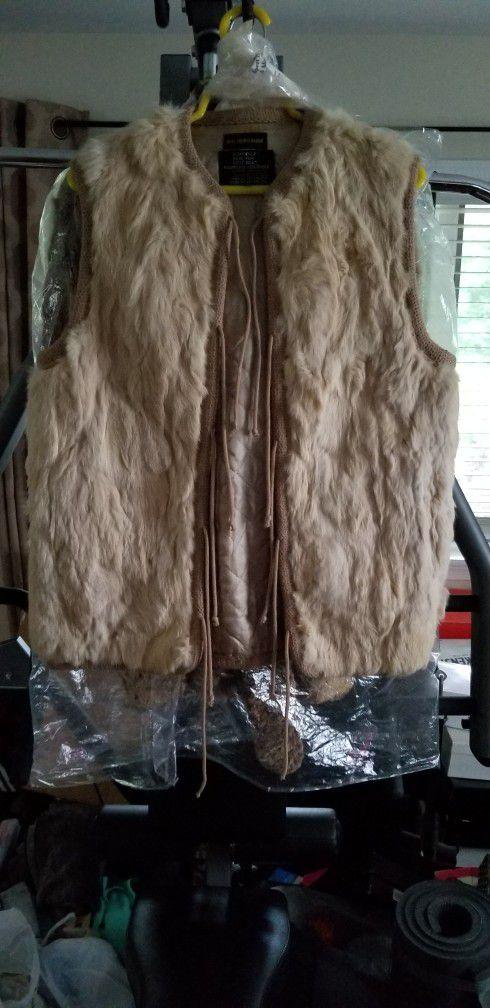 Authentic Rabbit Fur Vest