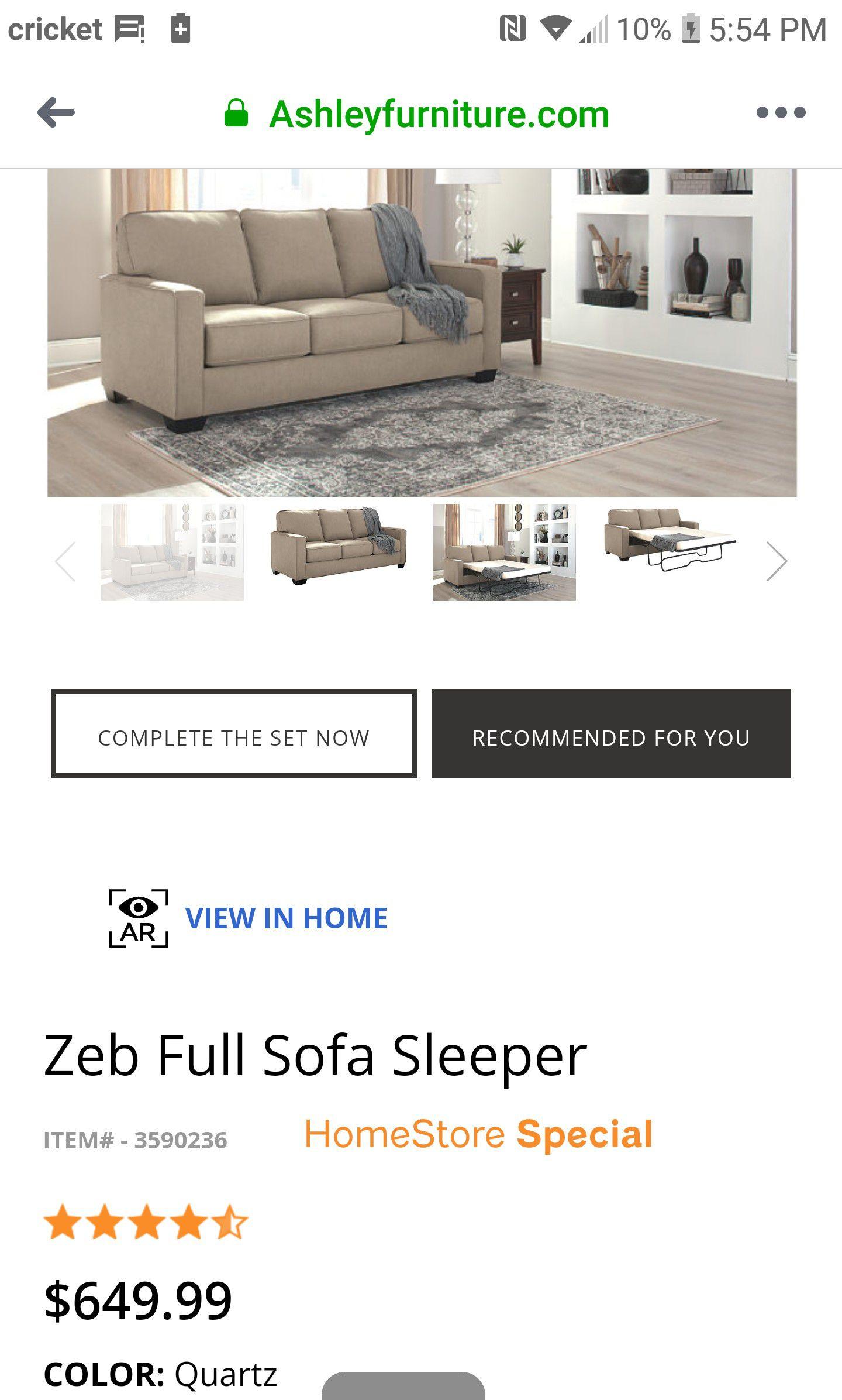 Ashley Sofa Sleeper