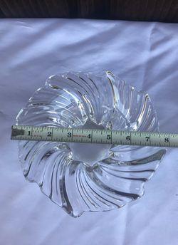 Crystal bowl , look at measurements Thumbnail