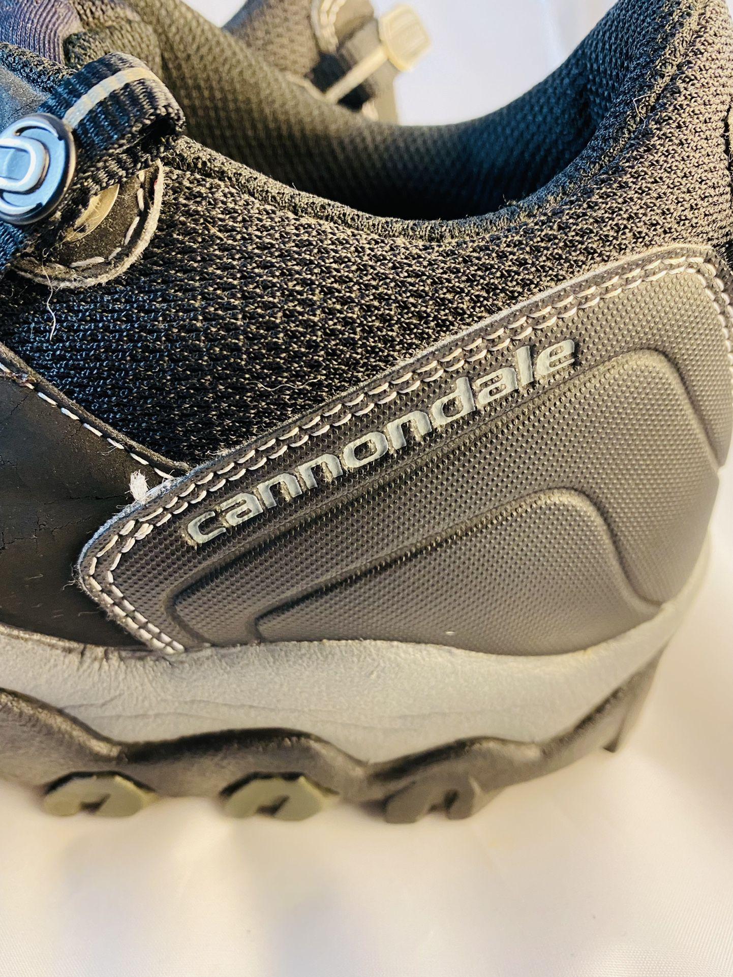 Cannondale Mountain Bike MTB Cycling Shoes Mens US 12 M Blue 2 Bolt Lace U