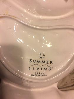 Summer Living Chip Dip Serving Dish Bowl fish Thumbnail