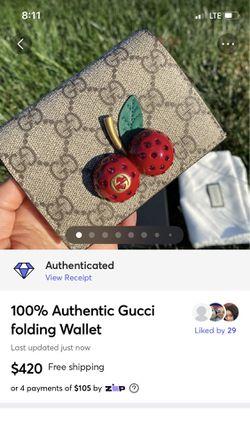 100% Authentic Gucci Wallet  Thumbnail