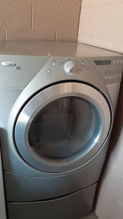 Nice whirlpool duet gas dryer available Thumbnail