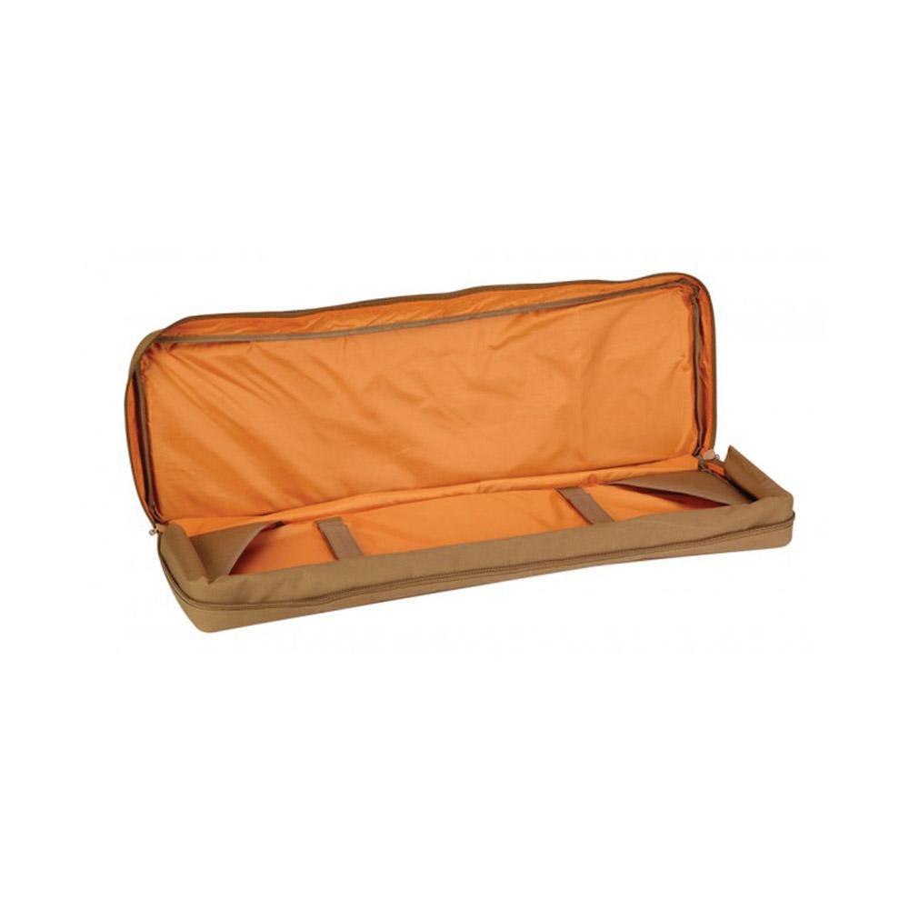 """Propper Single Padded 36"""" Rifle Case w/MOLLE Webbing & Dual Pistol Pockets-Black"""