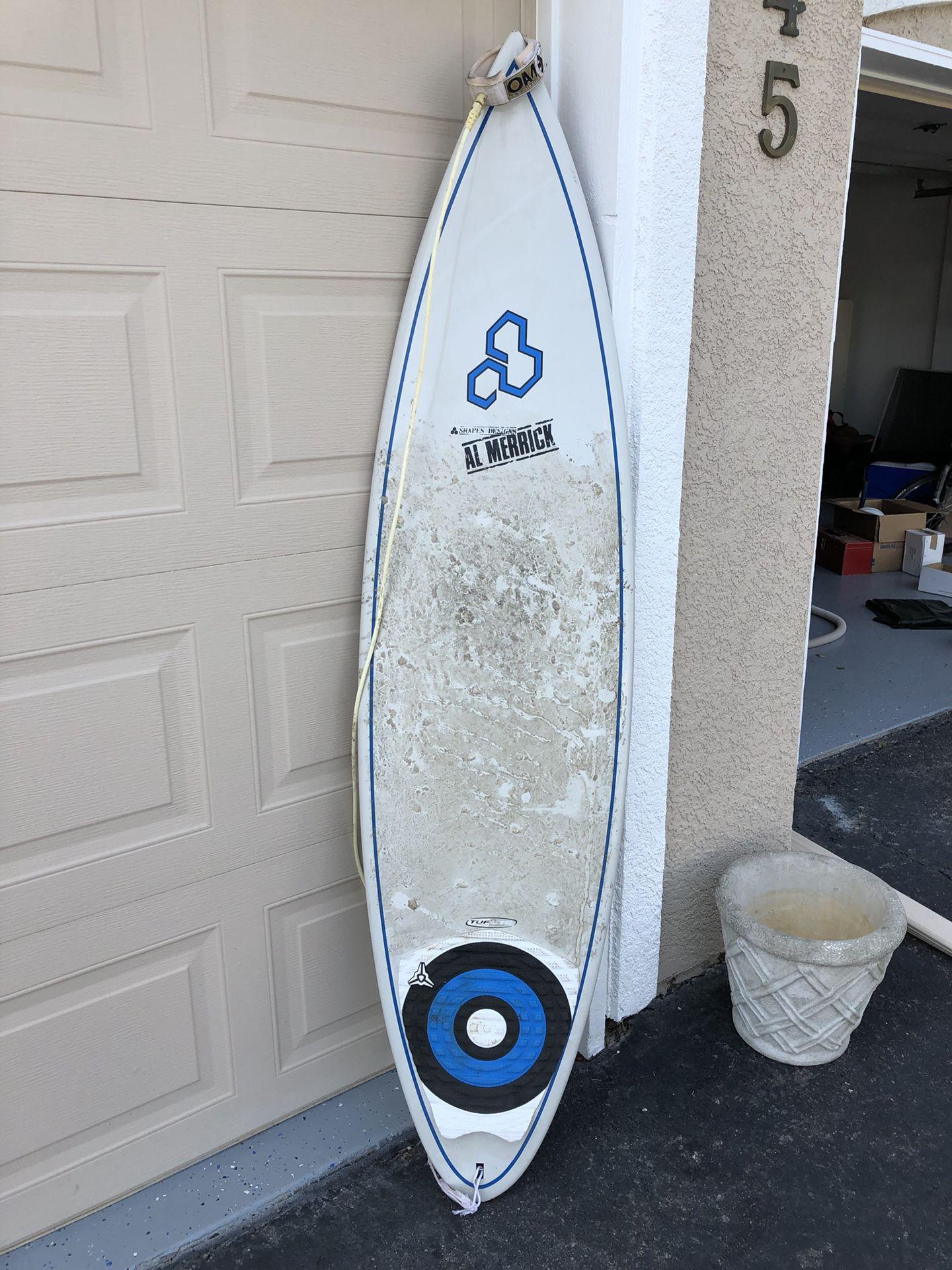 Used Al Merrick surfboard