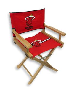 Miami Heat Junior Director`s Chair Thumbnail