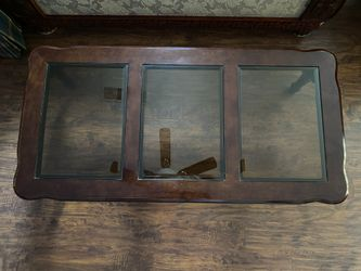 Living Room Set: End Table, Coffee Table, & China Cabinet Thumbnail