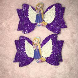 "Rapunzel 3"" Bows Set Of 2 Thumbnail"