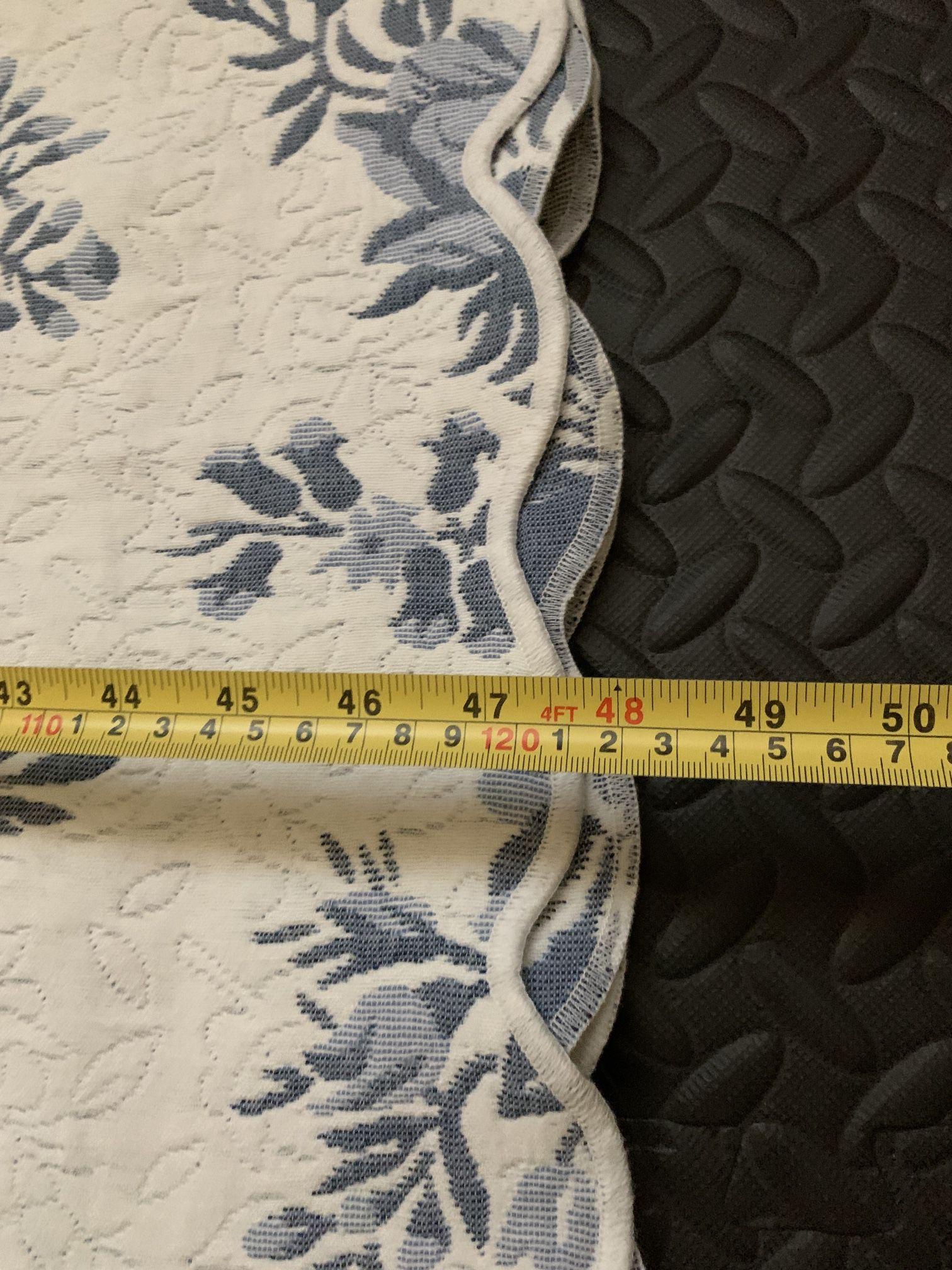 "Flower Pattern Blanket 108"" X 96"" - New"