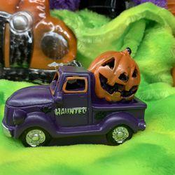 Purple Truck Halloween Mini With Light  Thumbnail