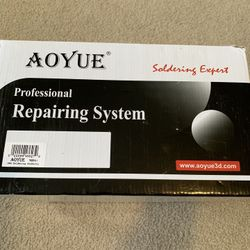 Aoyue 968A+ Professional SMD Digital Hot Air Rework Station with a Soldering Iron and Vacuum Pickup Thumbnail