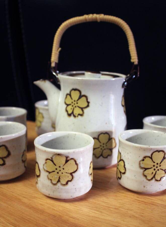 Adorable Japanese Tea Set