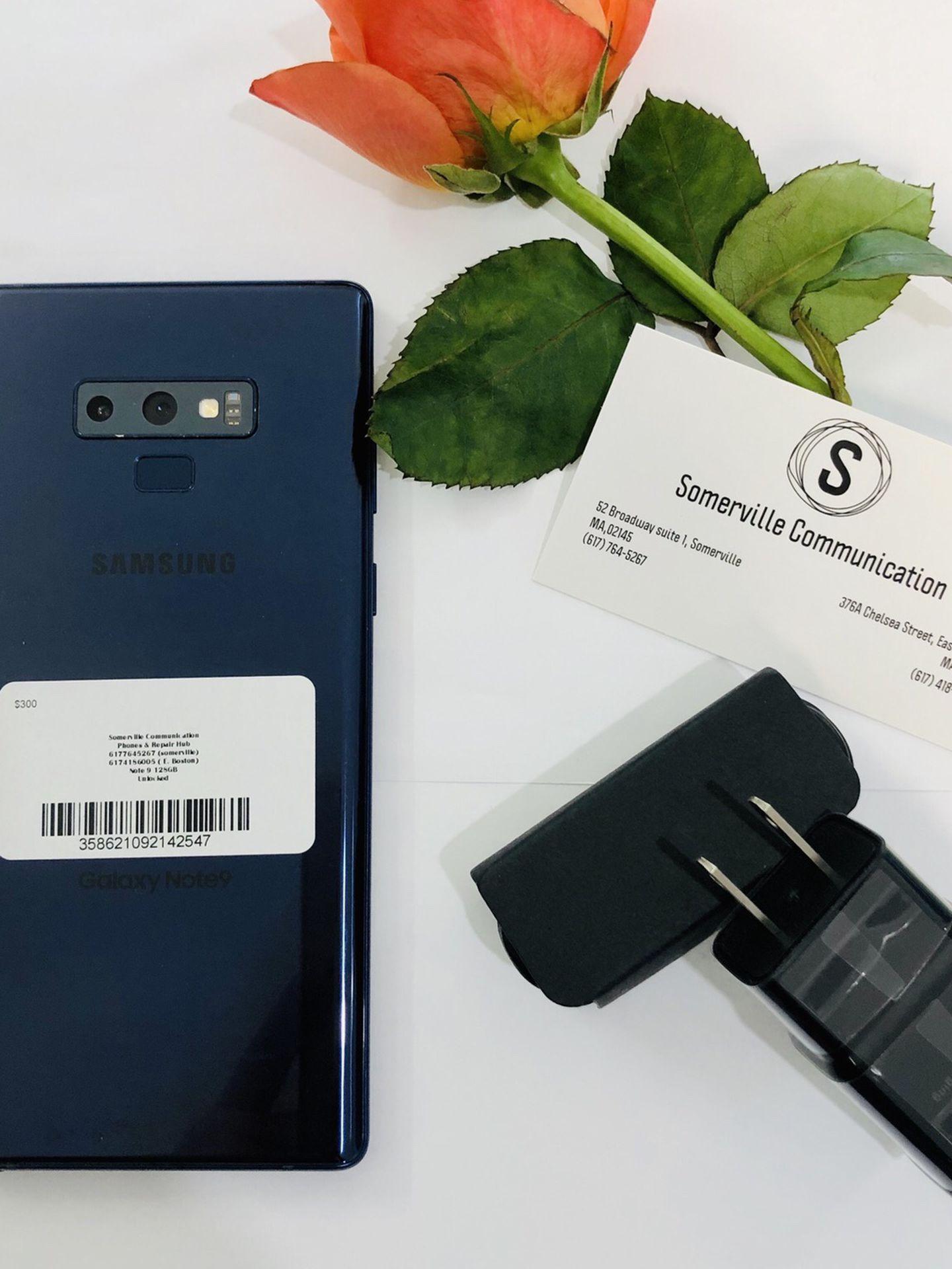 Samsung galaxy note 9 128gb unlocked