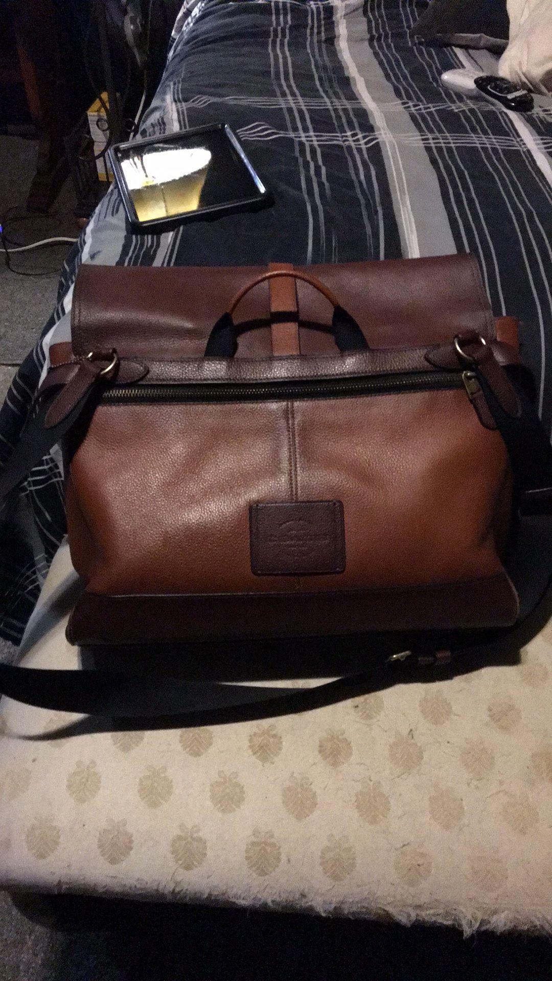 Coach Messenger Laptop Bag