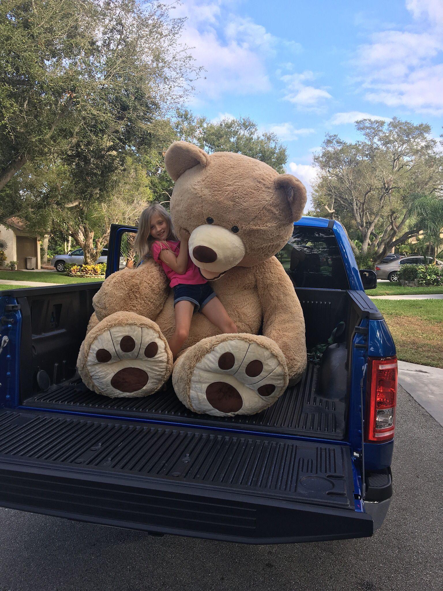 """93"""" Super Soft Stuffed Teddy  Bear"""