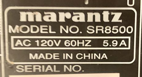 Marantz SR850O Pro Home Theater Receiver Thumbnail