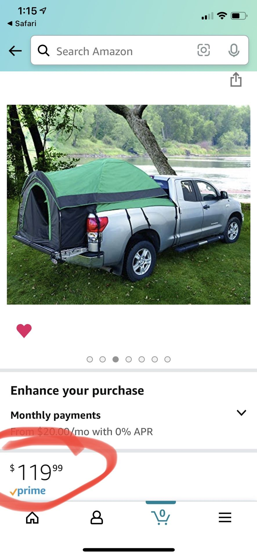 Bed Truck Tent - NEW!