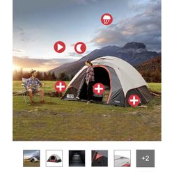 CORE 6 Person Tent with Block Out Technology Thumbnail