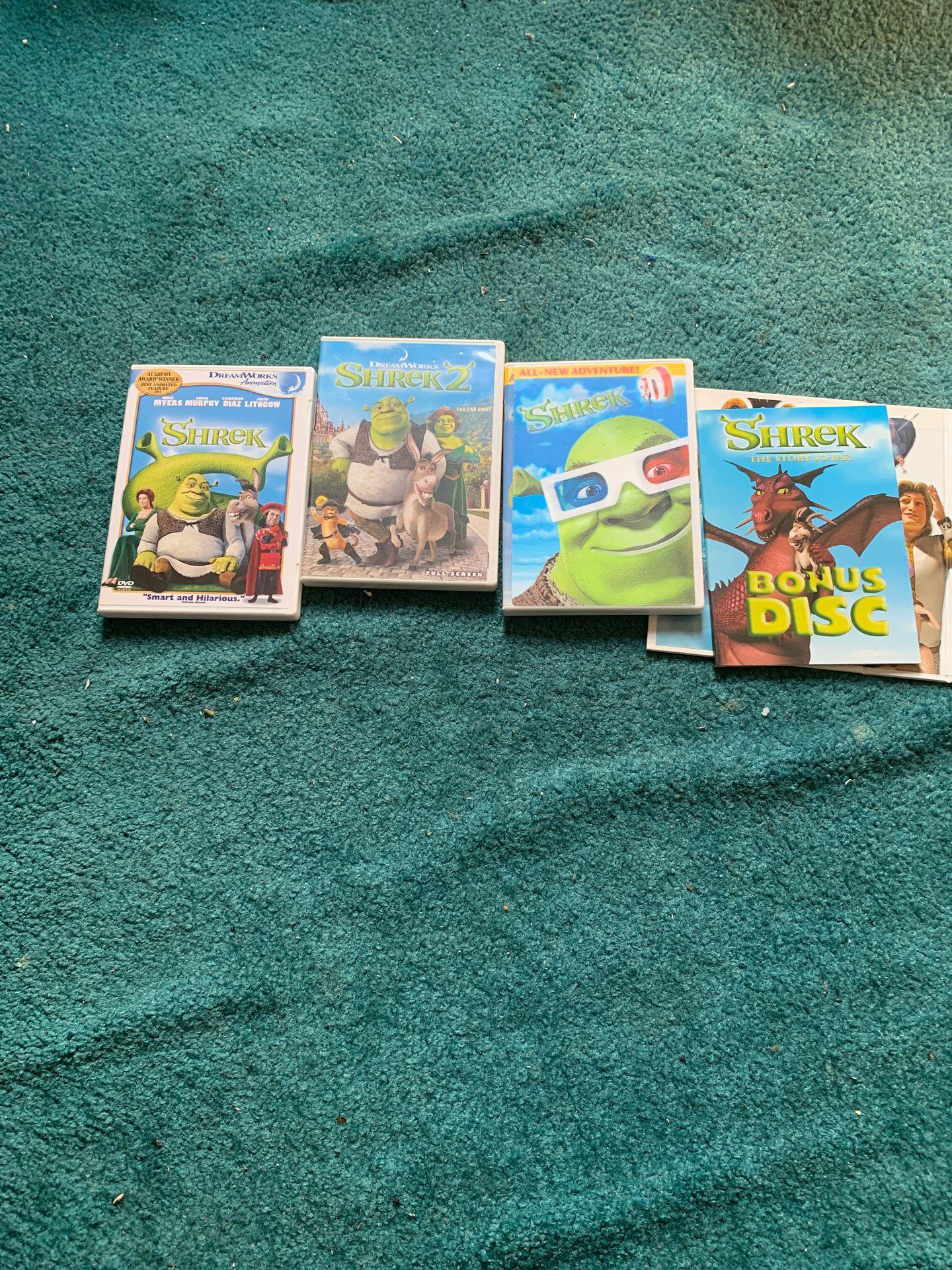 Shrek box set