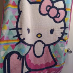 Hello Kitty Plush Throw Blanket  Thumbnail