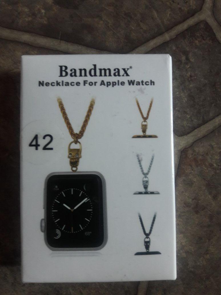 Bandmax necklace forapple watch nuevo 17$