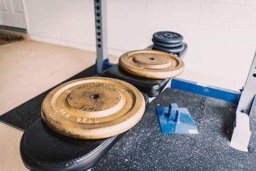 Bench Press Set & Weights Thumbnail
