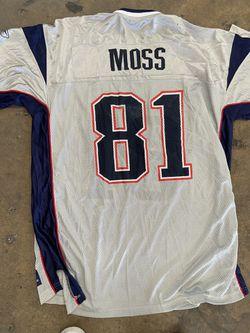 NFL Randy Moss New England Patriots Jersey  Thumbnail