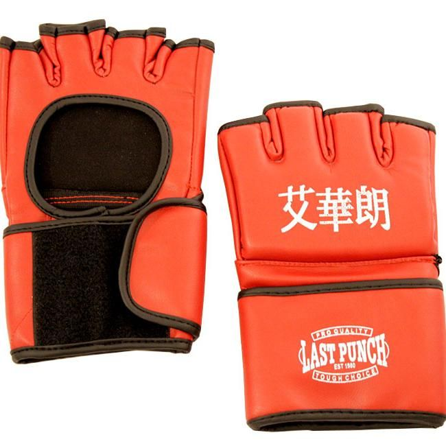 Shelter 141-XL Grappling MMA Training Gloves UFC Style Gloves Red - Extra Large