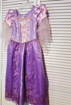 Tangled Rapunzel Dress Costume- Size 9/10 Thumbnail