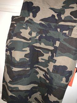 Camo Buckle Overall Dress Thumbnail