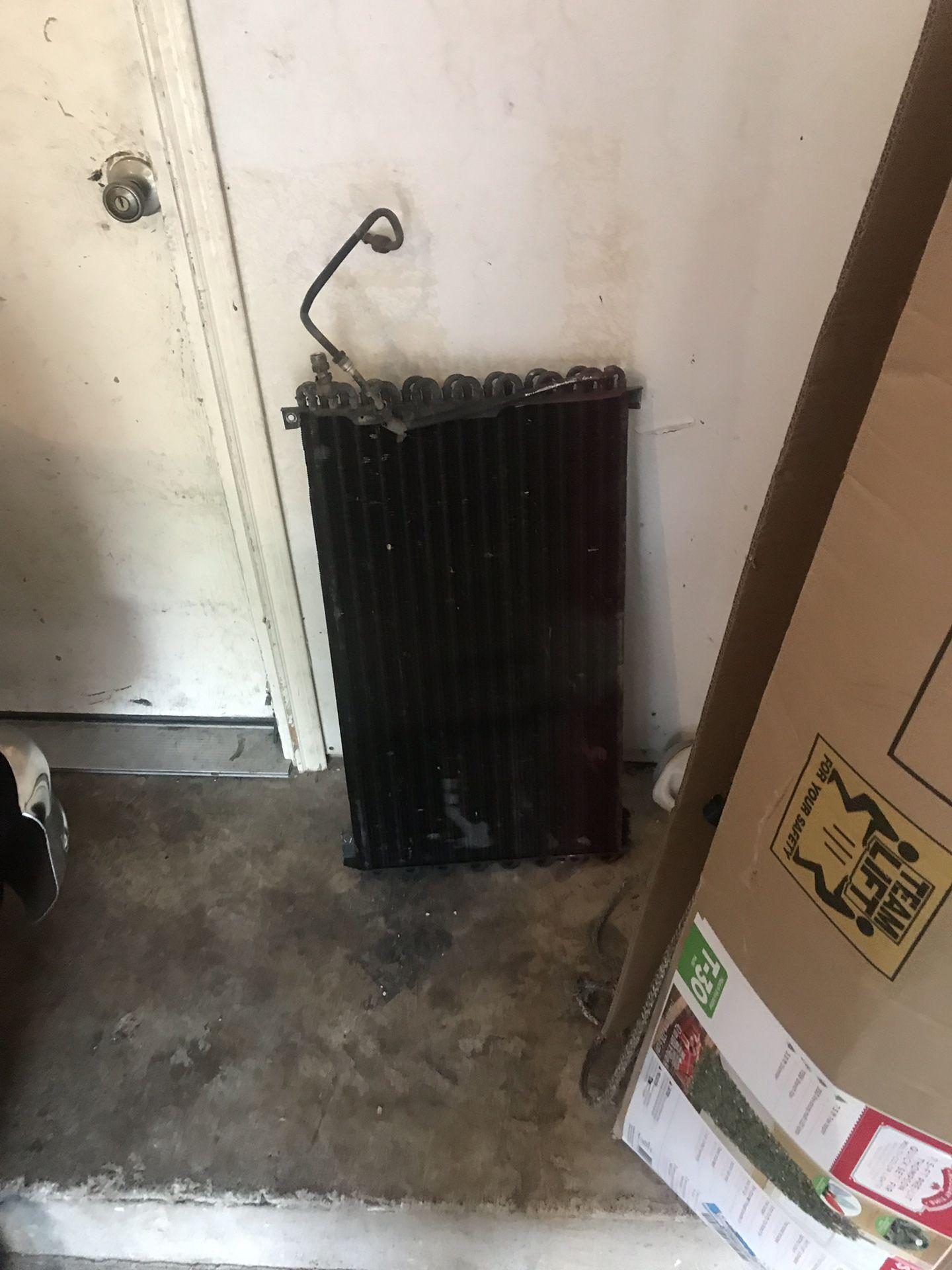 AC condenser Chevy c-10
