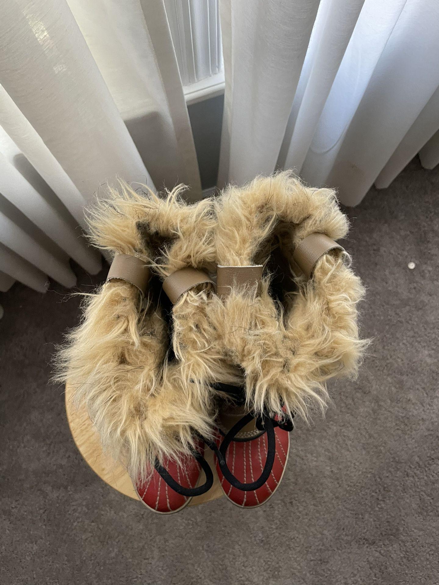 Sorrel Tall Winter Boots Faux Fur Liner