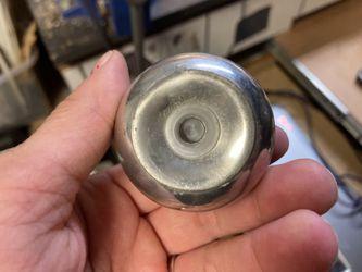Antique Pewter Apple Shaped Salt Shaker Thumbnail